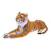 Гигантский плюшевый тигр Melissa & Doug  Tiger - Plush, 1,8 м 151-563 - в интернет магазине Kindo.ua