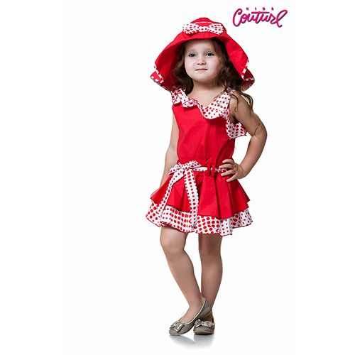 Платье Kids Couture в горошек 162-2050