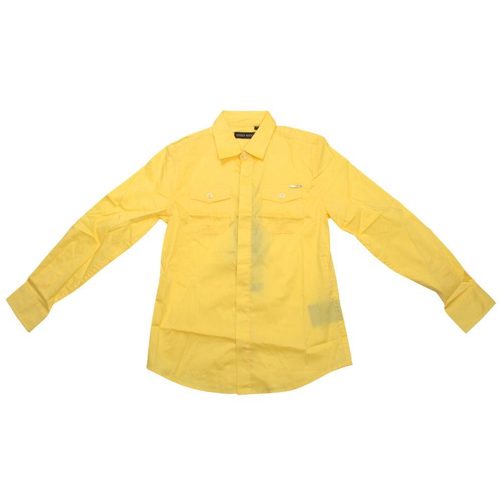 72d9841cee4d Рубашка Antony Morato для мальчиков, желтая 172-1358