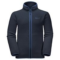 Кардиган Jack Wolfskin «K BLACK BEAR FLEECE» для мальчика, синий