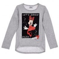 Кофта Disney Minnie Mouse серого цвета