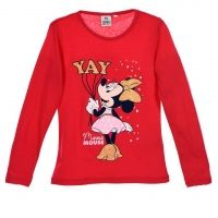 Кофта Disney Minnie Mouse, малиновая