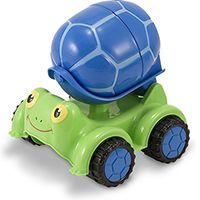 Цементовоз Melissa & Doug «Черепашка» Scootin' Turtle Cement Mixer