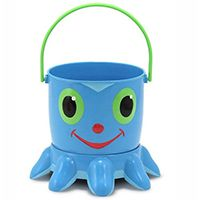 Набор Melissa & Doug для песочницы «Осьминожка» Flex Octopus Pail and Sifter