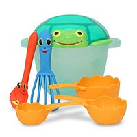 Набор юного повара Melissa & Doug «Морской» Seaside Sidekicks Sand Baking Set
