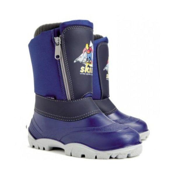 aad6eaa69 Зимние сапоги-дутики DEMAR Sking синие 286-3580 - купить по отличным ценам в