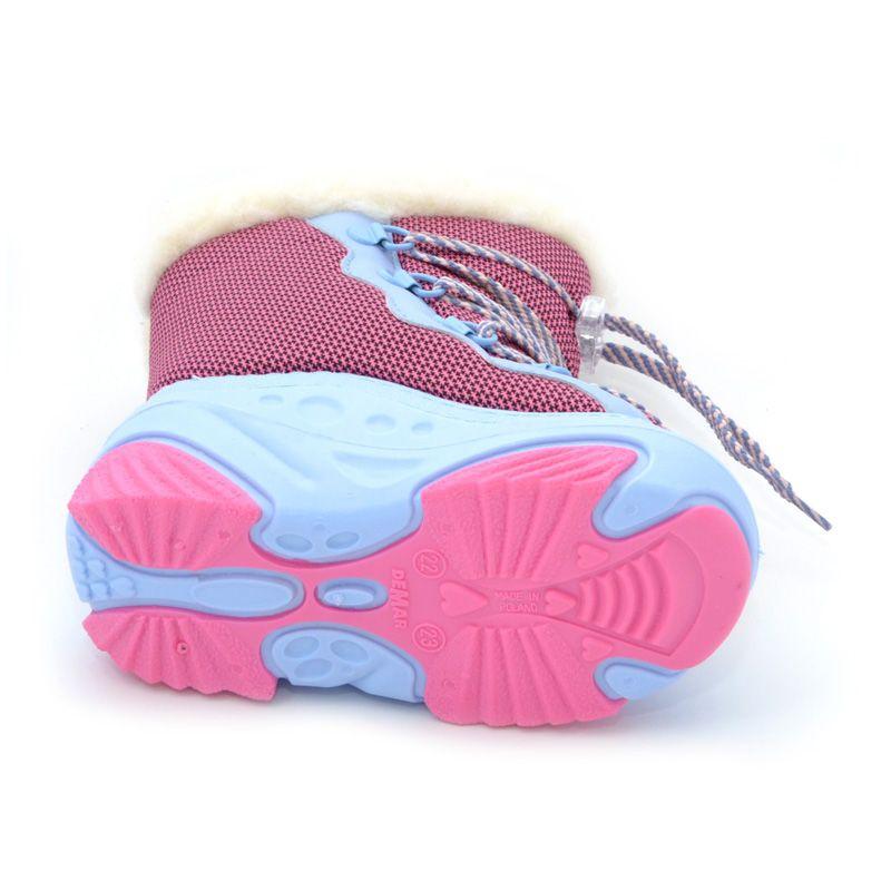 ... Зимние сапоги-дутики DEMAR SNOW MAR розовые 286-3586 - купить по  отличным ценам 2b93e5b016251