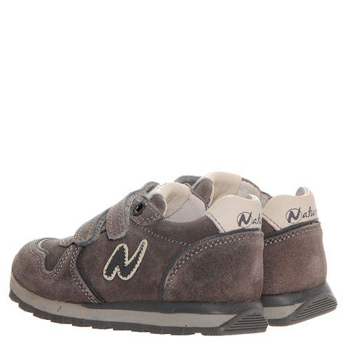 79cccfe7 ... Замшевые кроссовки Naturino коричневого цвета на липучках 286-4170 -  фото 4 ...