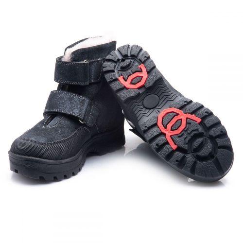 4144567c Зимние ботинки Theo Leo для мальчиков, черные с серым 286-7505 - купить по  отличным ценам в ...