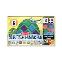 Кнопочная мозаика  Melissa & Doug Big Button Number Fun