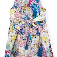 Платье Choupette с бантовыми складками