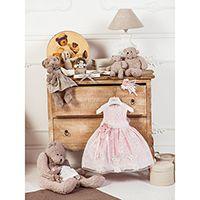 Милое платье Les Gamins для девочки розового цвета