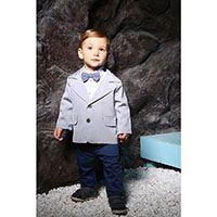 Стильный костюм Gentlebaby: пиджак, штаны, рубашка, бабочка