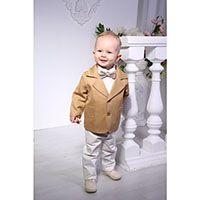 Костюм Gentlebaby: пиджак, рубашка, бабочка, штаны