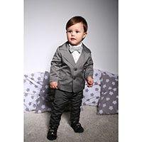 Серый костюм Gentlebaby для мальчика