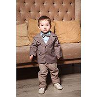 Костюм Gentlebaby: пиджак, штаны, рубашка и милая бабочка