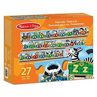 Паровозик Melissa & Doug «Алфавит» Alphabet Express Floor Puzzle