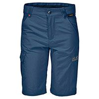 Удобные шорты Jack Wolfskin «SAFARI SHORTS KIDS» синего цвета