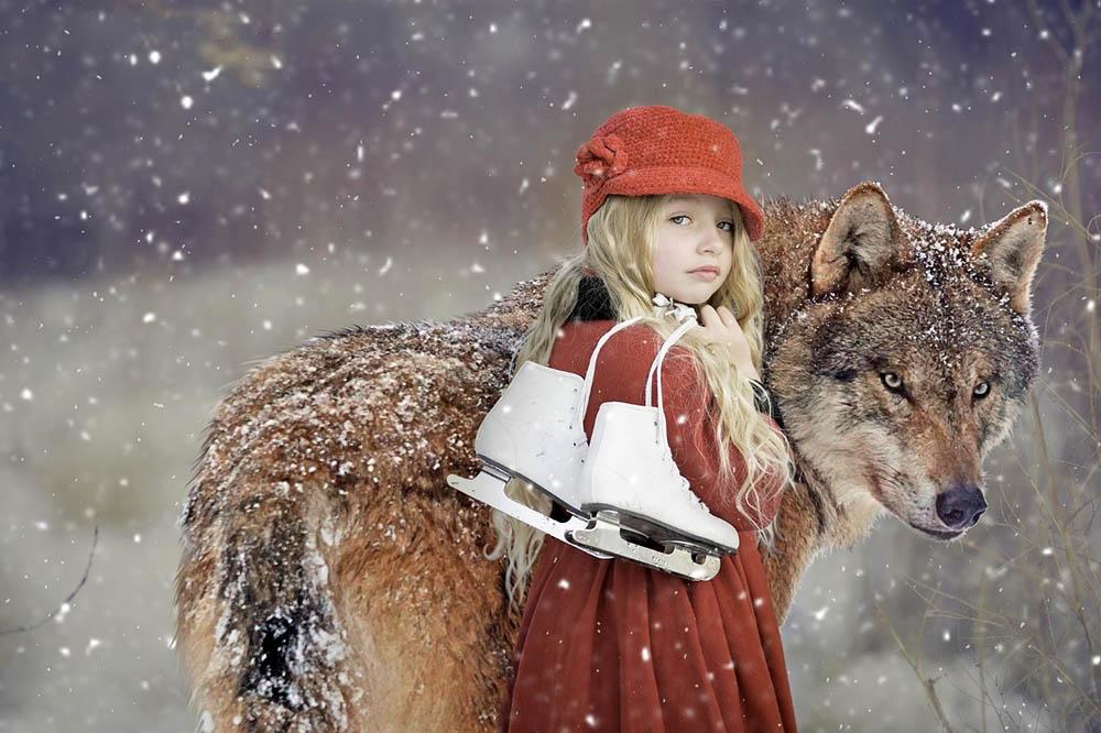 Зимняя сказка: три яркие идеи новогодней фотосессии