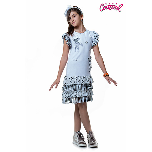 Платье белое Kids Couture