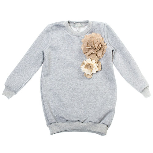 Туника Kids Couture серая
