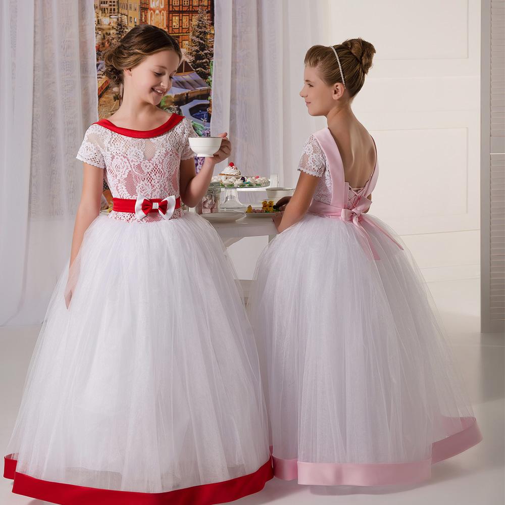 Фото пышных платьев на выпускной из садика