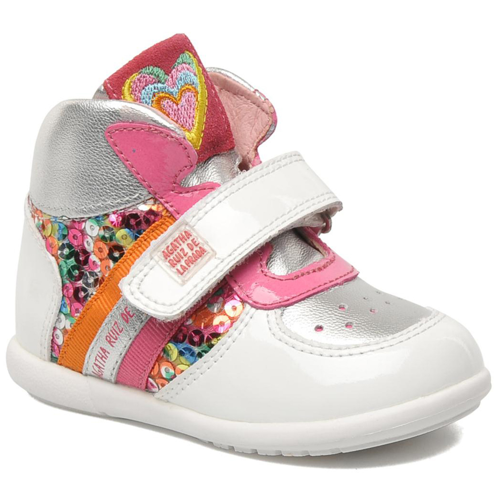 Кеды на липучке для девочки AGATHA RUIZ DE LA PRADA 286-819 купить в ... c91e970391c