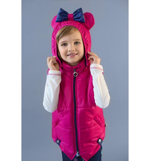 Модные жилетки для девочек