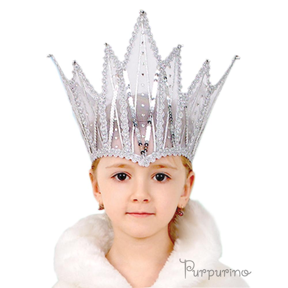 Выкройка корона снежной королевы своими руками